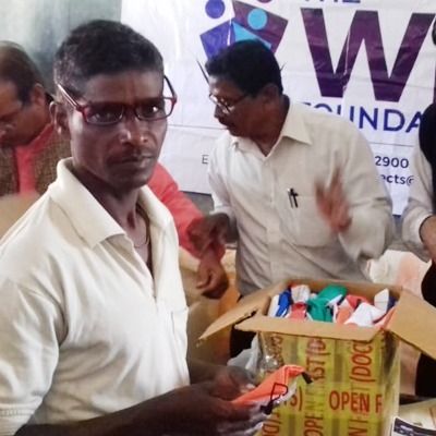 Eye Camp with distribution of Glasses to all age-groups in Odisha