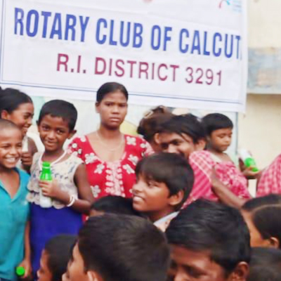The We Foundation with support from Rotary Club of Calcutta organized an...